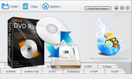 WinX DVD Ripper Platinum 7.5.4