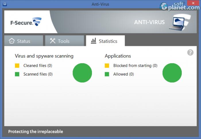 F-Secure Internet Security описание для программы. Перейти на главную стра