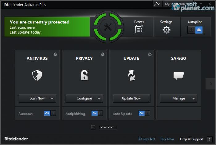 BitDefender Internet Security 2015 v18.11.0.872 - антивирус, защита ПК.