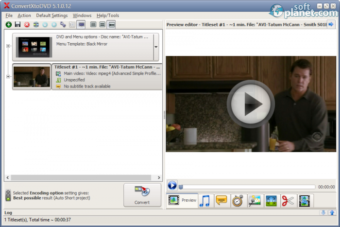 how to use convertxtodvd 5