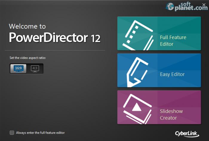 Посмотреть ролик - Скачать CyberLink PowerDirector 12.0.2230.0 Retail ключ