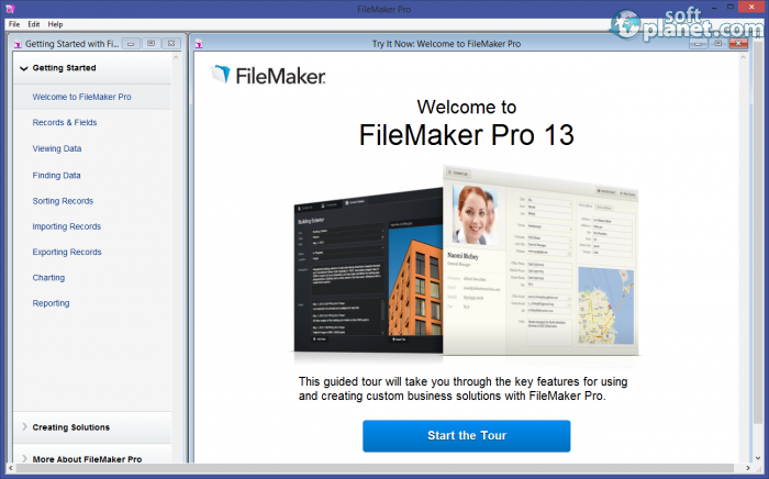 Filemaker pro free download for windows softplanet for Filemaker pro 13 templates