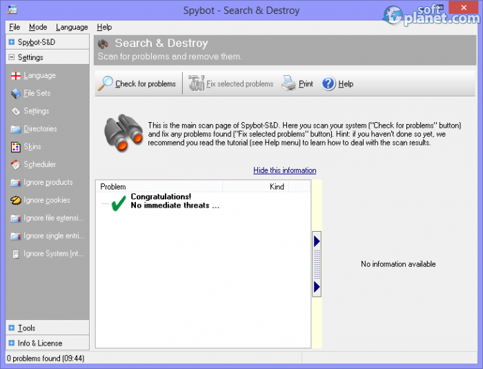 how to download spybot search and destroy for free