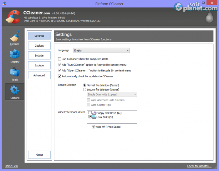CCleaner Screenshot4