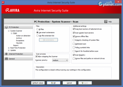 Avira Internet Security Suite Screenshot3