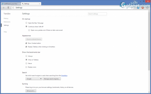 Yandex Browser Screenshot4