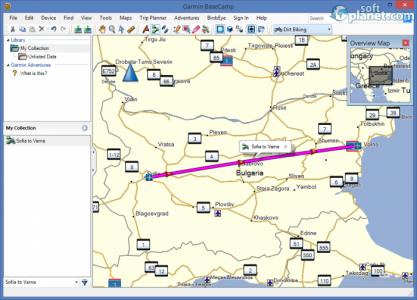 Garmin BaseCamp Screenshot4