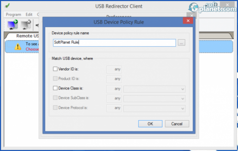 USB Redirector Client Screenshot2
