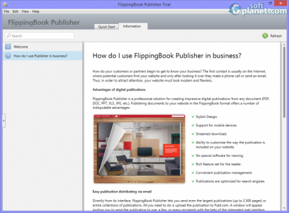 FlippingBook Publisher Screenshot2