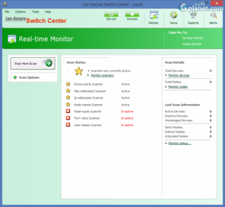 Lan-Secure Switch Center Screenshot2