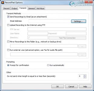 RecordPad Sound Recorder Screenshot3
