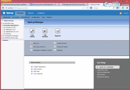 XpoLog Center Log Management Screenshot3