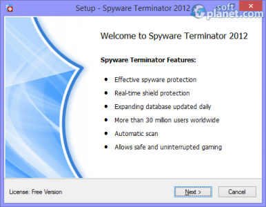 Spyware Terminator 2012 Screenshot5