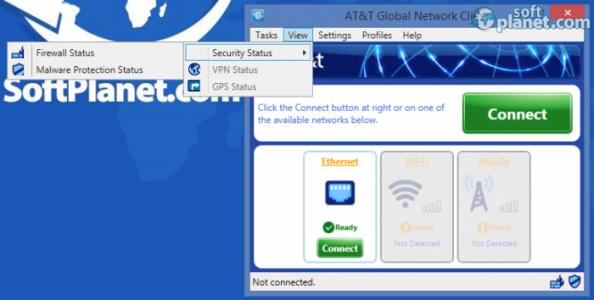 AT&T Global Network Client Screenshot3