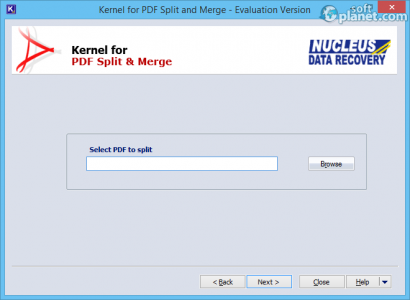 Kernel for PDF Split & Merge Screenshot2