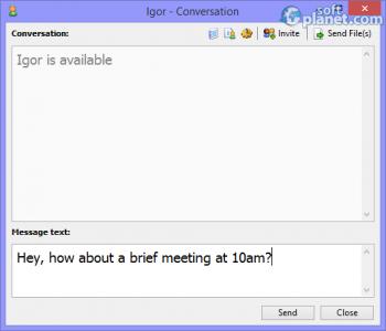 Softros LAN Messenger Screenshot2