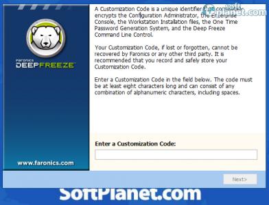Deep Freeze Standard Screenshot5