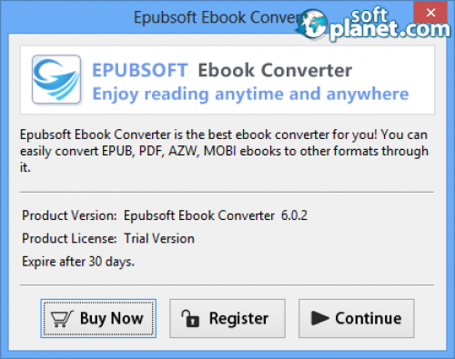 Epubsoft Ebook Converter Screenshot4