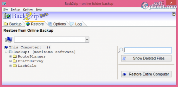 Back2zip Screenshot2