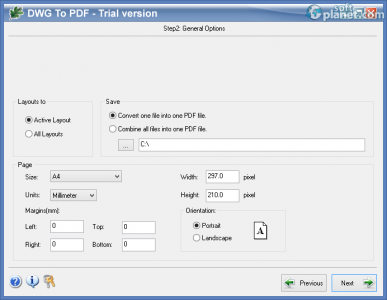 Oakdoc DWG to PDF Converter Screenshot2