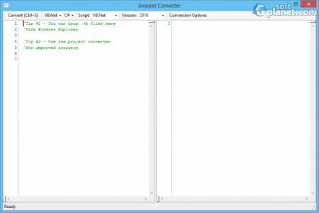VB.NET to C# Converter Screenshot3