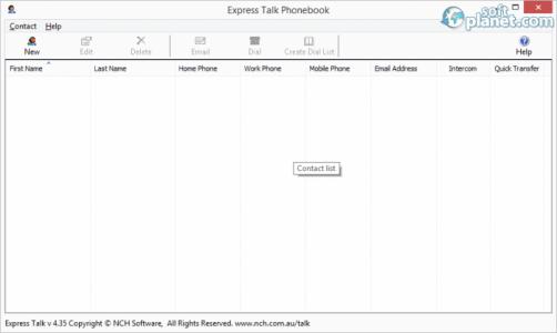 Express Talk Business VoIP Softphone Screenshot2