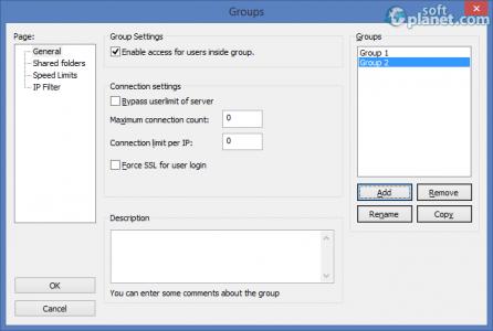 FileZilla Server Screenshot5
