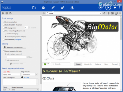 TOWeb Screenshot4