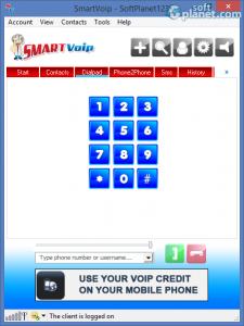 SmartVoip Screenshot2