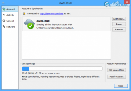 ownCloud Screenshot2
