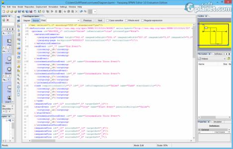 Yaoqiang BPMN Editor Screenshot3