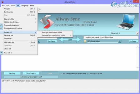 Allway Sync Screenshot2