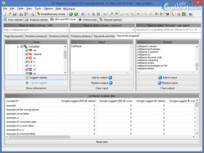 A1 Keyword Tools Screenshot3