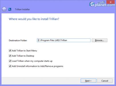 Trillian Screenshot5