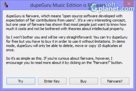 dupeGuru Music Edition Screenshot4