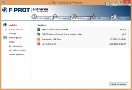 F-PROT Antivirus Screenshot3