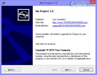 Tarma Installer Screenshot5