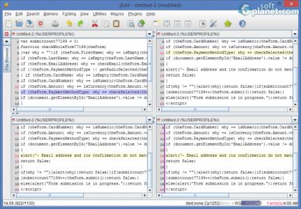 jEdit Screenshot4