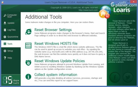 Loaris Trojan Remover Screenshot4