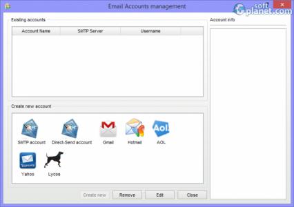 EmailAny Sender Screenshot3