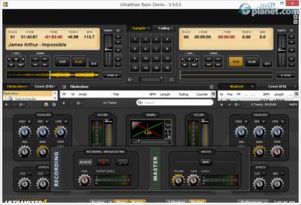 UltraMixer Basic Screenshot4