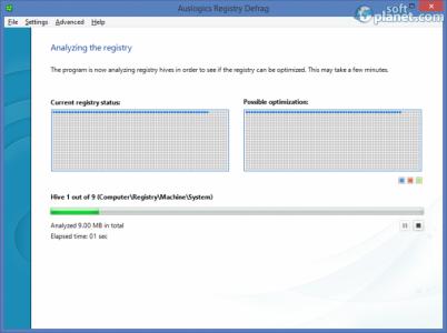 Auslogics Registry Defrag Screenshot2