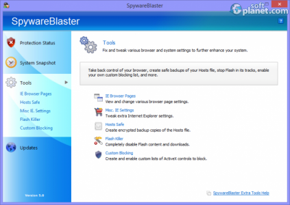 SpywareBlaster Screenshot3