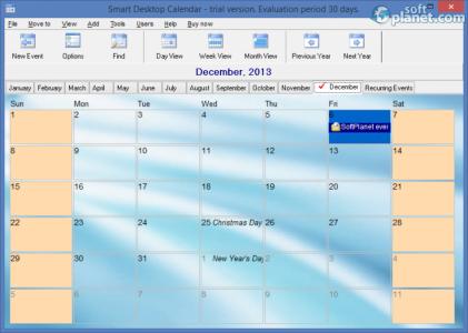 Smart Desktop Calendar Screenshot3