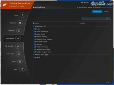 Privacy Eraser Free Screenshot2
