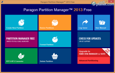 Paragon Partition Magic 2013 Free Screenshot3
