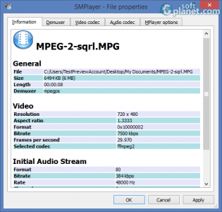 SMPlayer Screenshot3