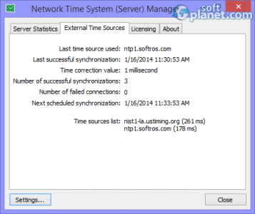 Network Time System Screenshot2