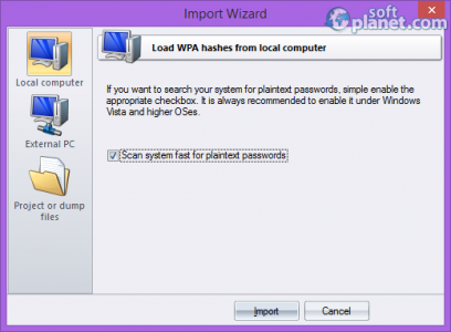 Wireless Password Recovery Screenshot2