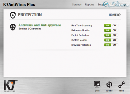 K7 Antivirus Plus Screenshot2